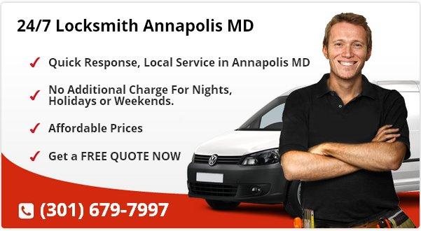 24 Hour Locksmith Annapolis MD